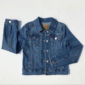 EUC Levi's Blue Jean Jacket S 8-10YRS